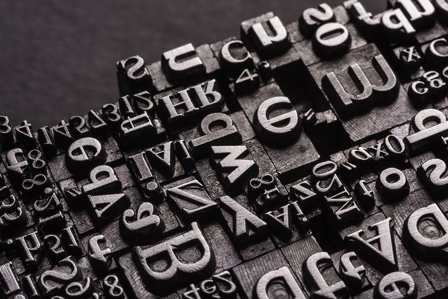 La scelta dei font